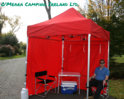2m x 2m Commercial Pop Up Gazebo (Inc Frame + Top + Side Walls)